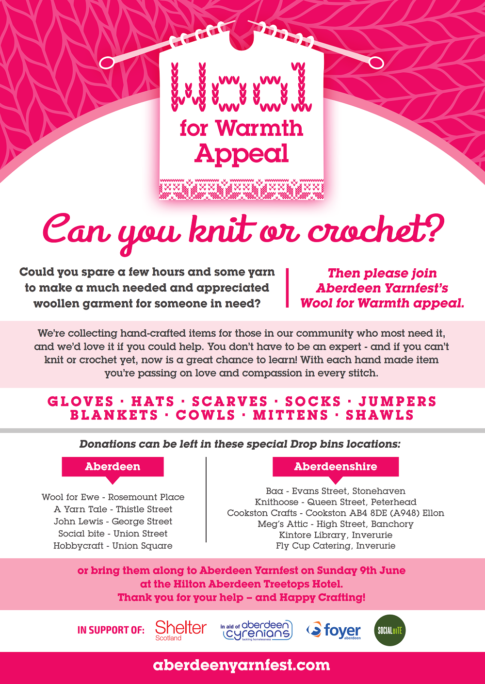 Wool for Warmth Appeal